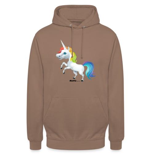Regenboog eenhoorn - Hoodie unisex