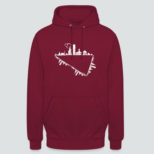 Heimatstadt png - Unisex Hoodie