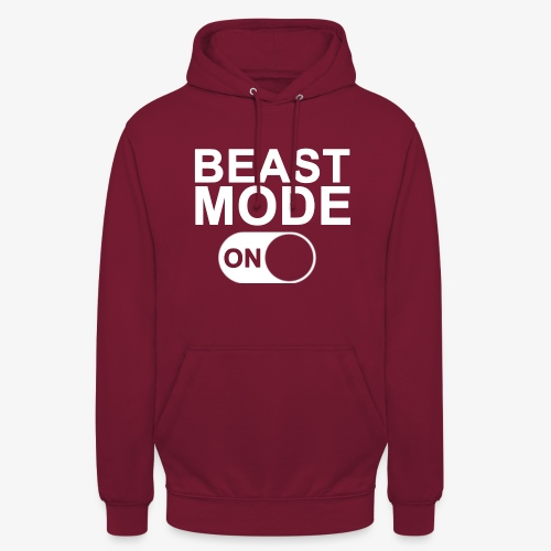 Beast Mode On - Hoodie unisex