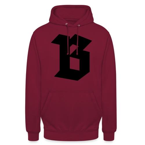 (B) Belgium - Sweat-shirt à capuche unisexe