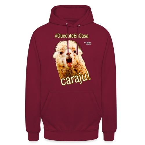 Quedate En Casa Caraju - Sweat-shirt à capuche unisexe