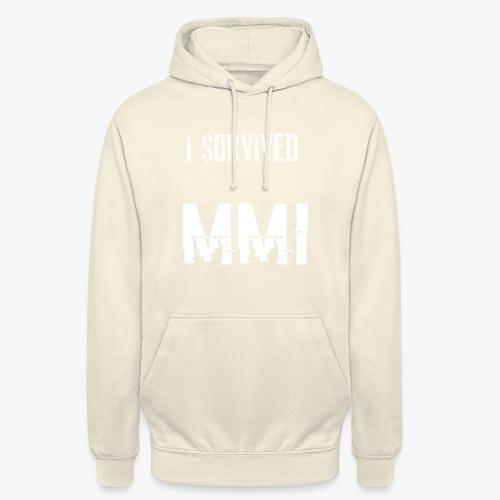 MMI survivor alternative - Sweat-shirt à capuche unisexe