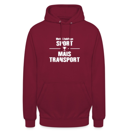 maistransport w - Unisex Hoodie