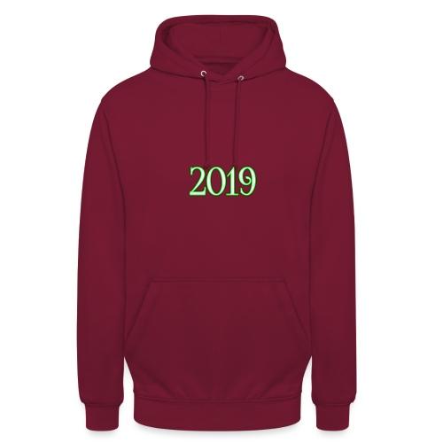 2019 - Unisex Hoodie