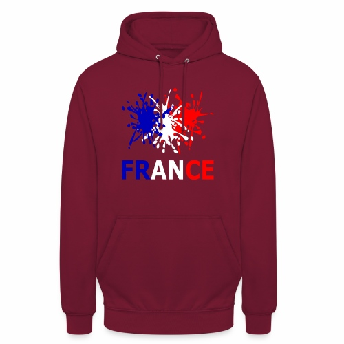 France - red white blue - Unisex Hoodie