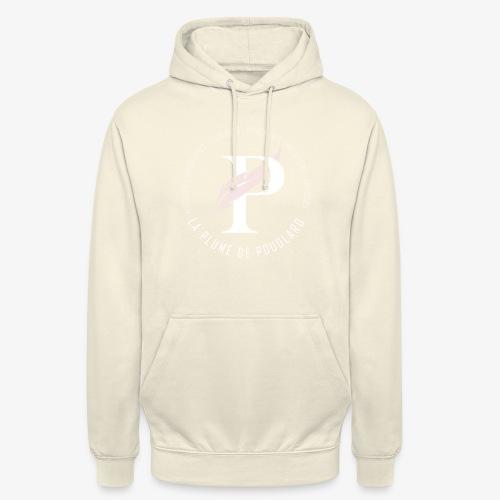 La Plume de Poudlard rond - Sweat-shirt à capuche unisexe