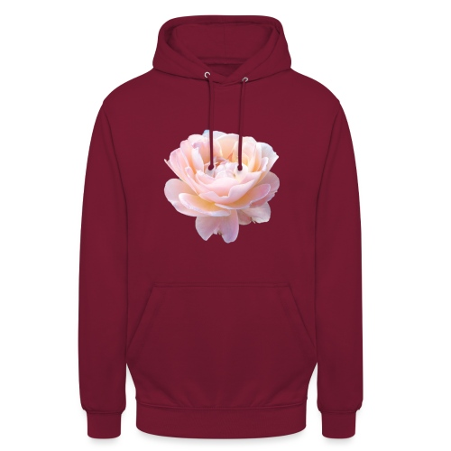 A pink flower - Unisex Hoodie