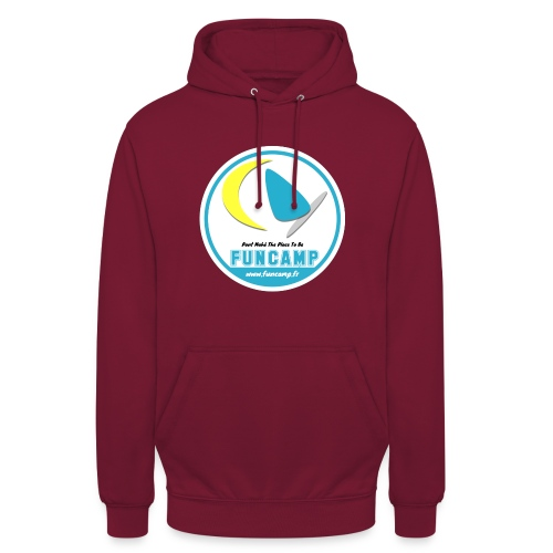 logo - Sweat-shirt à capuche unisexe