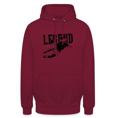Legend Handball - Sweat-shirt à capuche unisexe