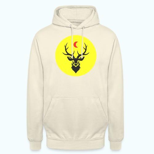Hipster deer - Unisex Hoodie