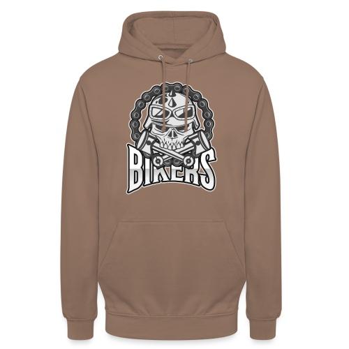 bikers new - Sweat-shirt à capuche unisexe