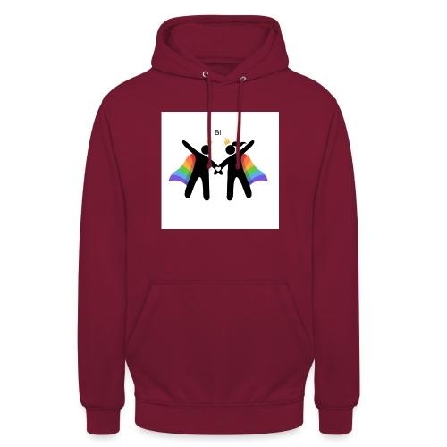 LGBT BI - Hættetrøje unisex