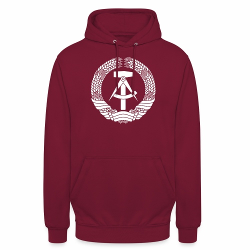 DDR Coat of Arms (white) - Unisex Hoodie