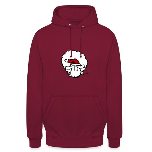 Santa Sheep (red) - Unisex Hoodie