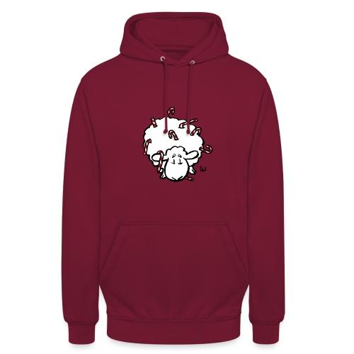 Candy Cane Sheep - Sweat-shirt à capuche unisexe