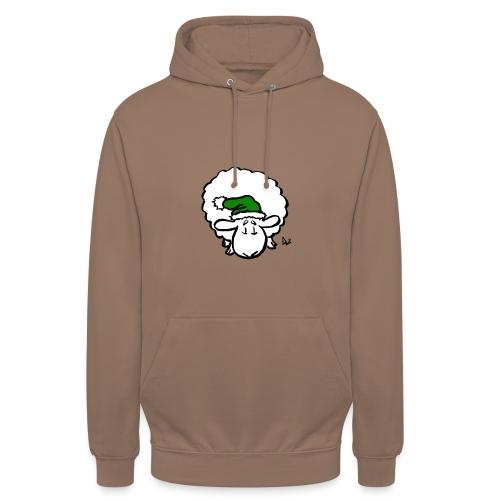 Santa Sheep (green) - Unisex Hoodie