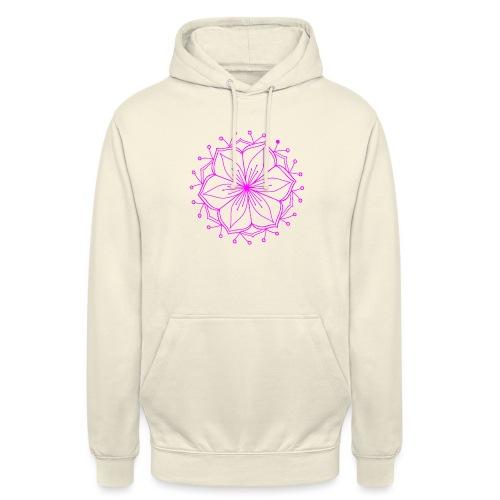 Pink Lotus Mandala - Unisex Hoodie