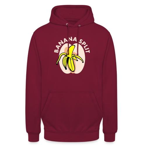 Banane split - Sweat-shirt à capuche unisexe