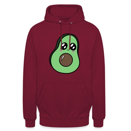 Avocat Kawaii ! - Sweat-shirt à capuche unisexe