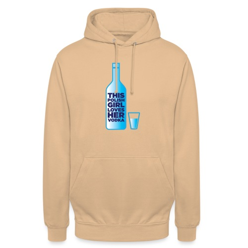 Girl loves Vodka - Unisex Hoodie