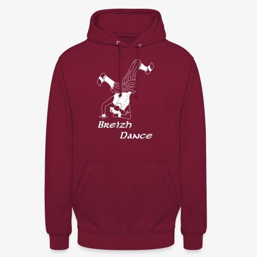 BZH Atypik Design - Breizh Dancer - Sweat-shirt à capuche unisexe