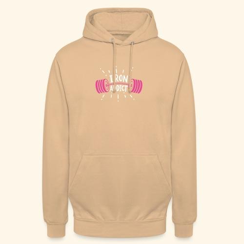 VSK Lustiges GYM Shirt Iron Addict - Unisex Hoodie