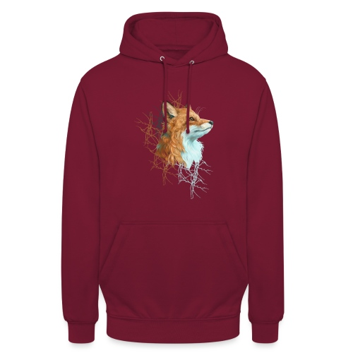 Happy the Fox - Unisex Hoodie