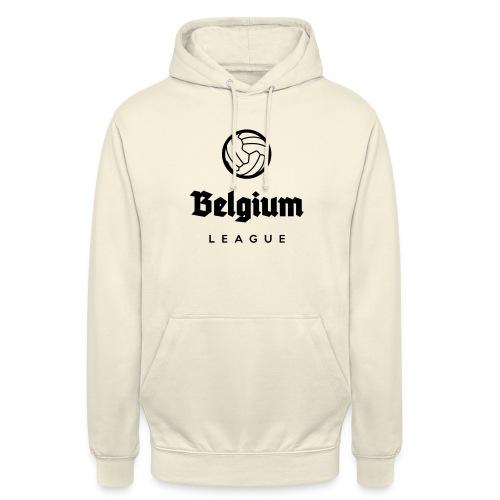 Belgium football league belgië - belgique - Sweat-shirt à capuche unisexe