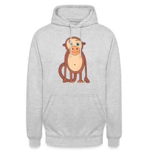 Bobo le singe - Sweat-shirt à capuche unisexe