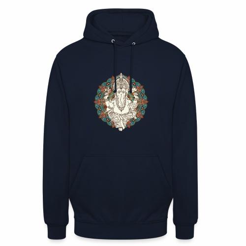 Ganesha - Hættetrøje unisex