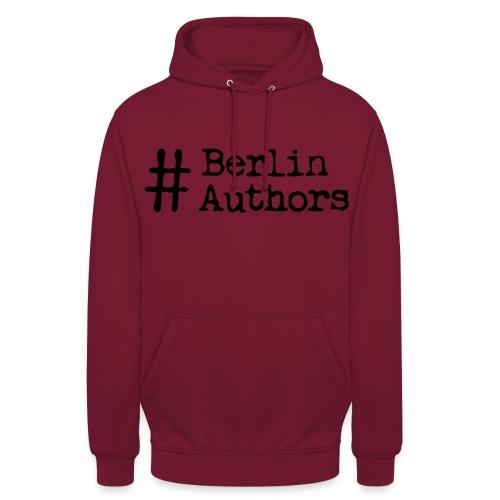 BerlinAuthors Logo Black - Unisex Hoodie
