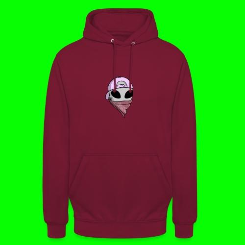 gangsta alien logo - Felpa con cappuccio unisex