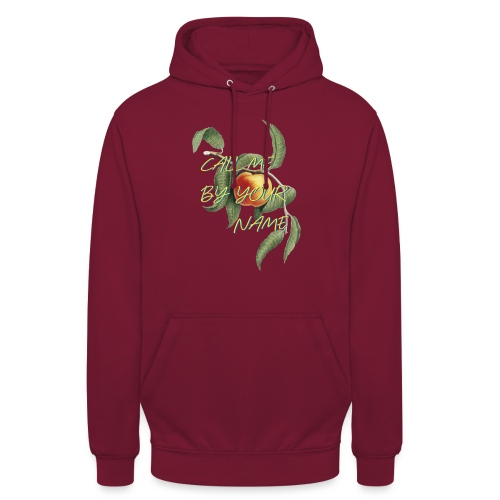 Call Me By Your Name | Film | Pfirsich - Unisex Hoodie