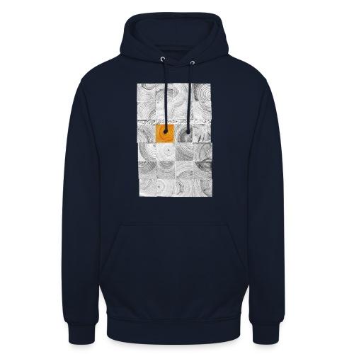 Cubes de Bois - Sweat-shirt à capuche unisexe