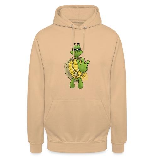 Graffiti Hip-Hop West-Coast Turtle / Schildkröte - Unisex Hoodie