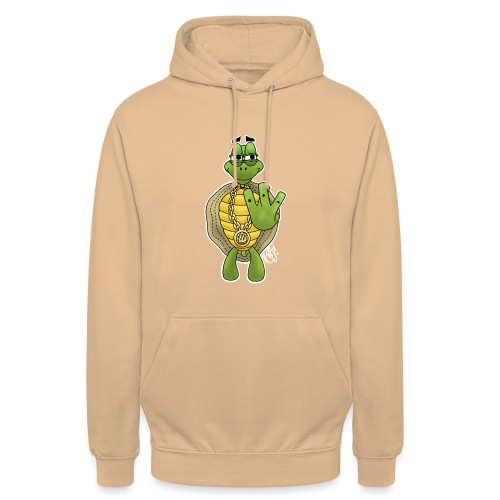 West Coast Schildkröte / Hip-Hop Turtle - Unisex Hoodie