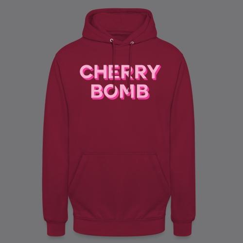 CHERRY BOMB Tee Shirts - Unisex Hoodie