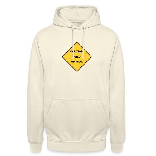 Caution Wild Animal - Sweat-shirt à capuche unisexe