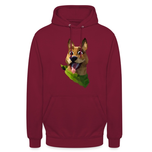 LOW POLY DOGO - Sweat-shirt à capuche unisexe