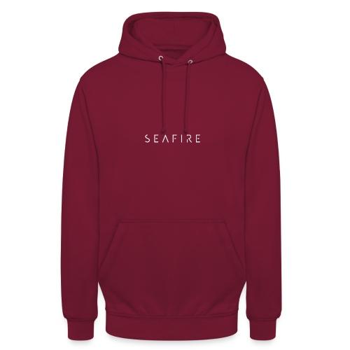 Seafire logo WHITE - Hoodie unisex