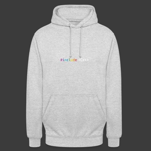 rainbow for dark background - Unisex Hoodie