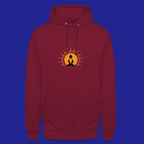 Guramylyfe logo no text black - Unisex Hoodie