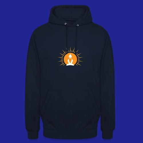 Guramylyfe logo white no text - Unisex Hoodie