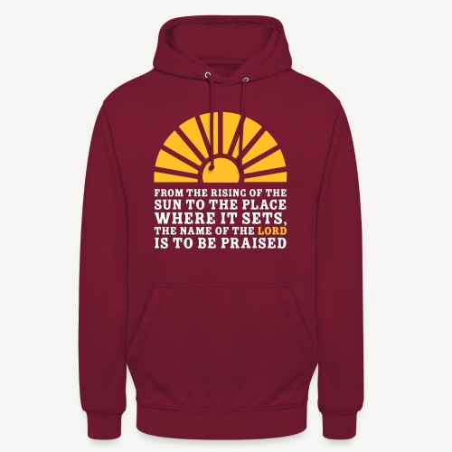 FROM THE RISING OF THE SUN - Unisex Hoodie