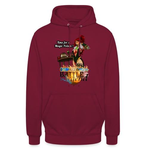 Mythrilisatrice- Battle for Legend X 01Musculation - Sweat-shirt à capuche unisexe