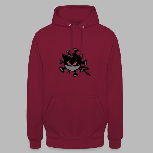 virus 2.0 logo - Sweat-shirt à capuche unisexe