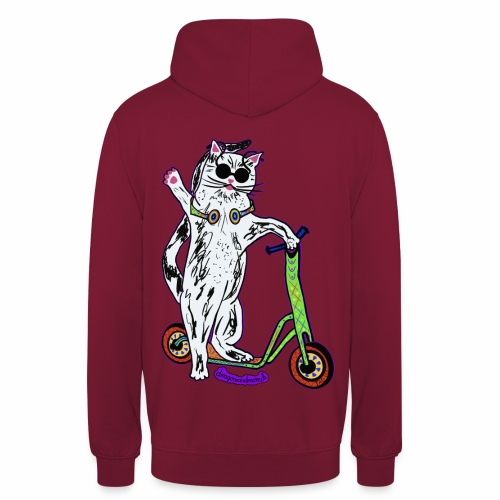 Chat Scooter - Unisex Hoodie