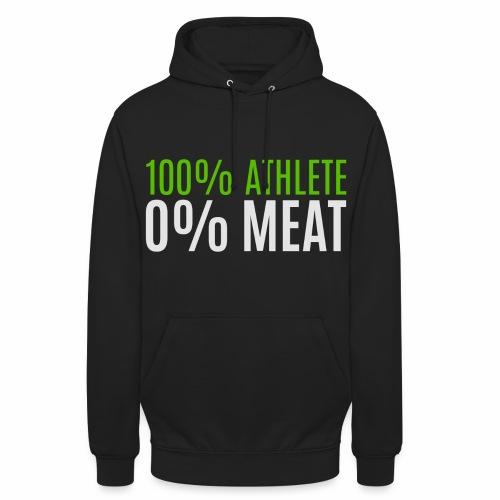100% Athlete - Unisex Hoodie