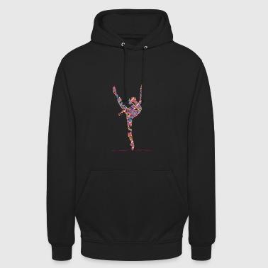 Danse classique - Sweat-shirt à capuche unisexe