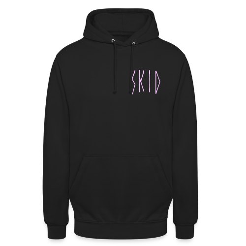 Skid brand_basic logo - Sweat-shirt à capuche unisexe